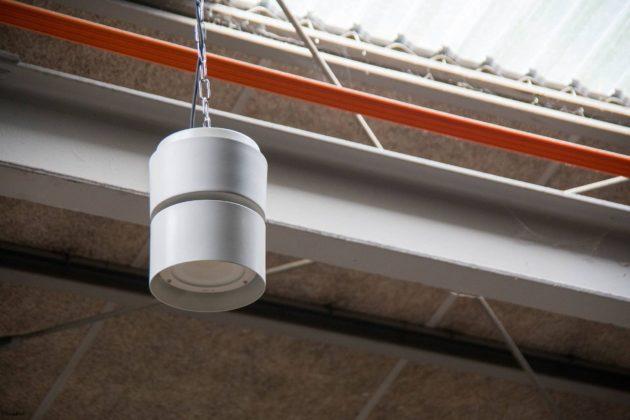 水銀灯 LED灯 工房 照明