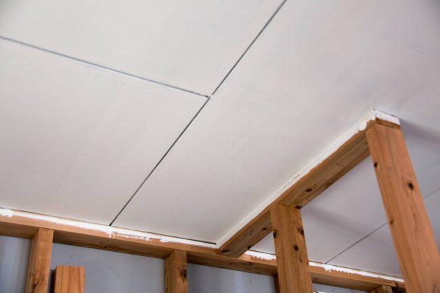 セルフリノベーション 塗装 天井 ツバキラボ