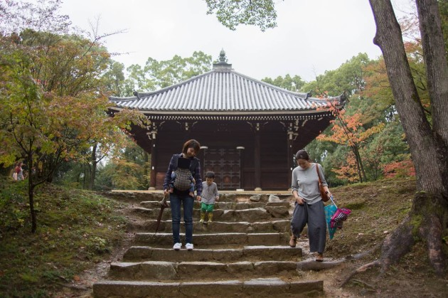 子連れ 京都 旅行 仁和寺