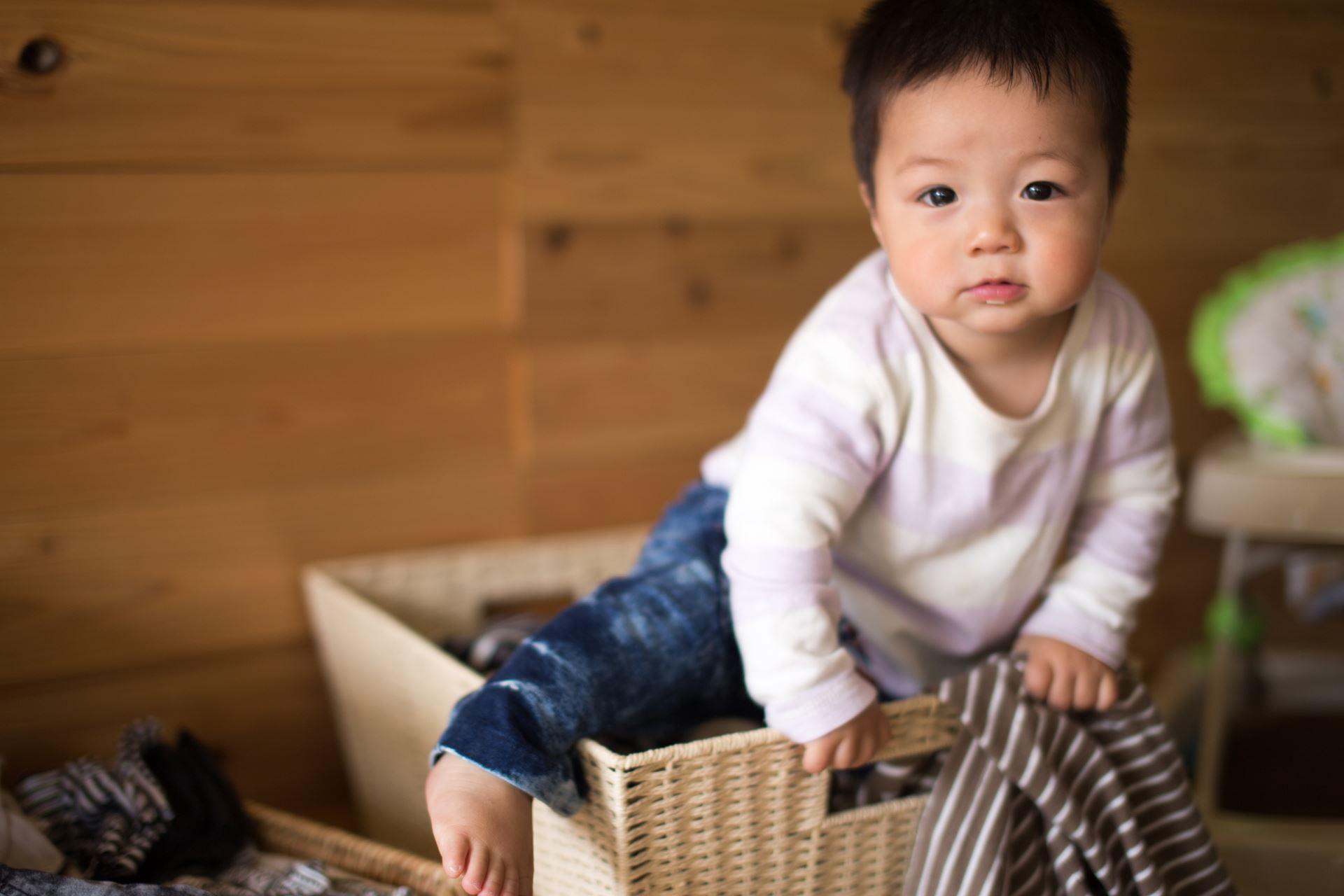 赤ちゃん 箱