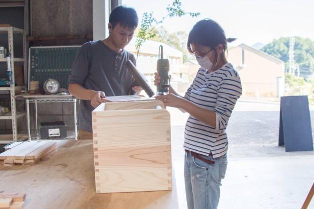 長良川おんぱく 本格 木組み おもちゃ箱 レポート