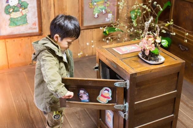 舞鶴 観光 大庄屋 上野家 木製冷蔵庫