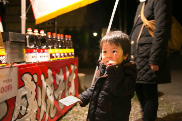 岐阜公園 夜桜