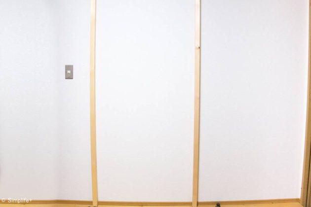 DIY 壁面収納 棚 壁 賃貸 アジャスターボルト