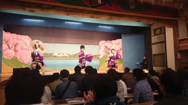 東座 白川町 地歌舞伎