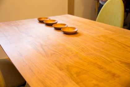 ダイニングテーブル 山桜 無垢