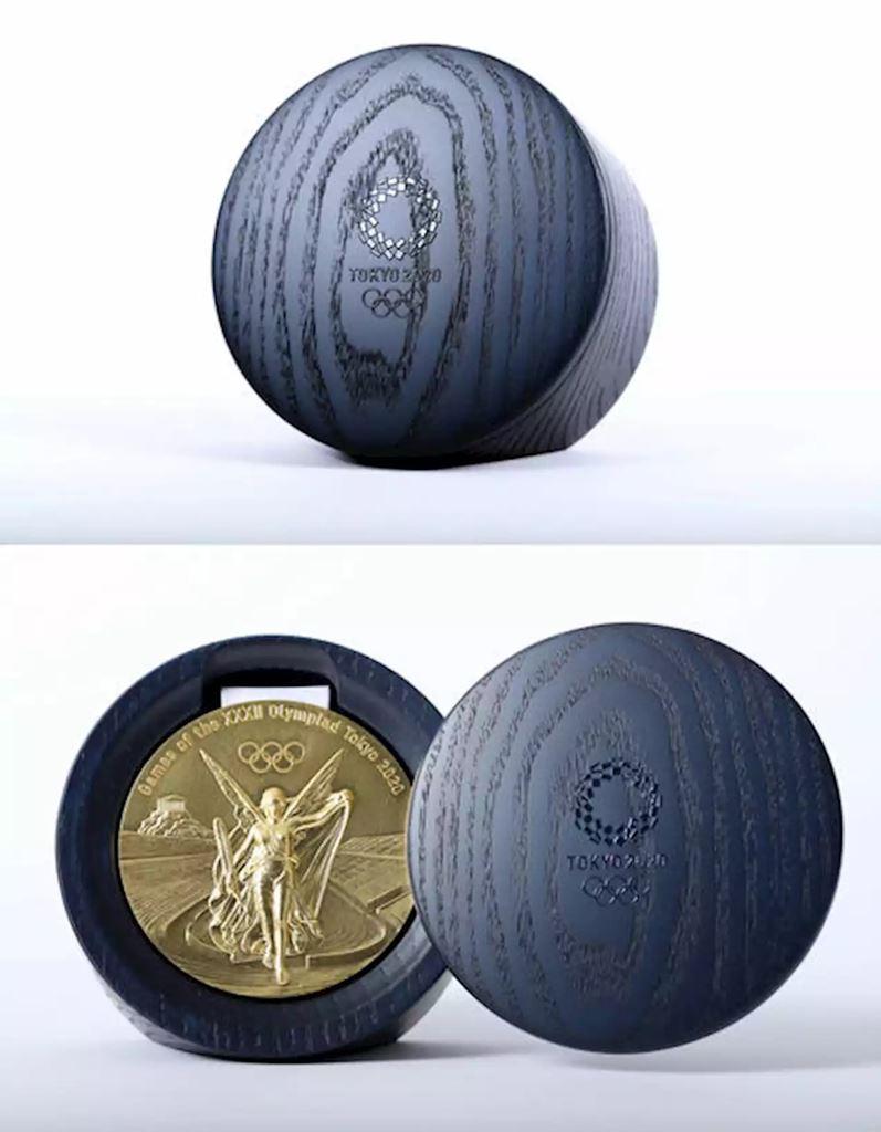 北海道 津別 山上木工 道東 オリンピック パラリンピック メダル ケース