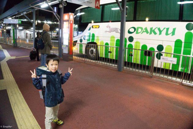 夜行バス 子連れ 東京スカイツリー α5100