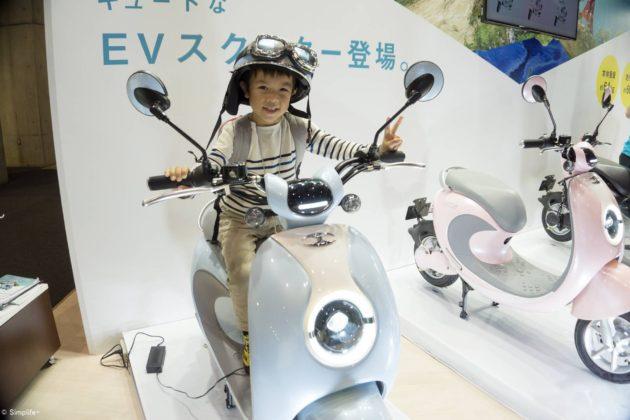 子連れ 東京モーターショー α5100