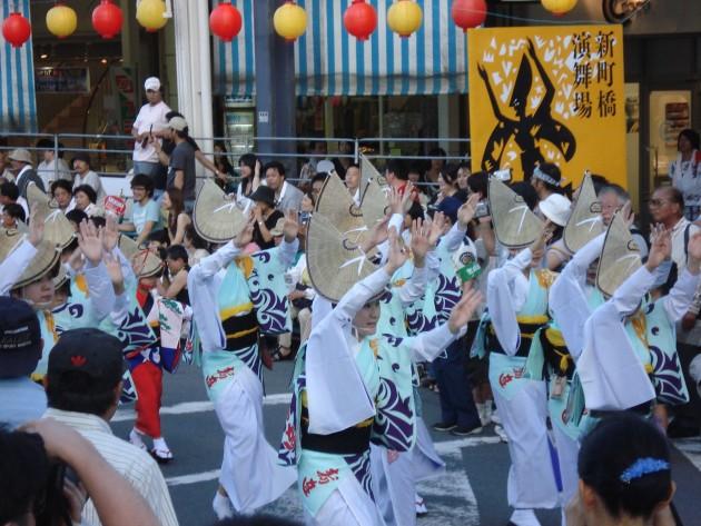 青春18きっぷの旅 四国一周 阿波踊り