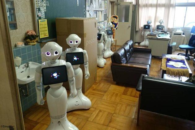 岐阜市 小学校 ソフトバンク スクールチャレンジ事業 Pepper