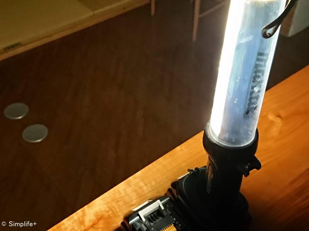 マキタ ワークライト 停電 あると便利 大活躍