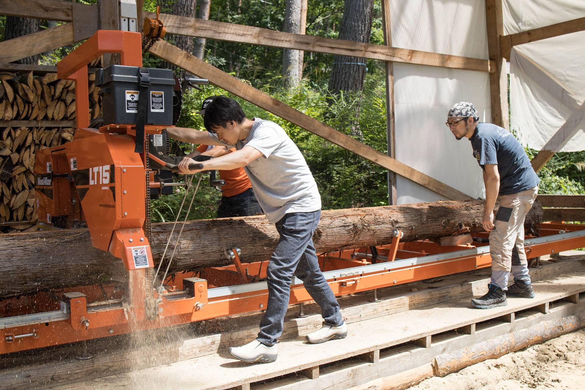 吉野崇裕 Tak Yoshino 河口湖 木工家