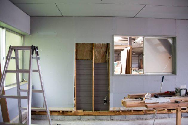 セルフリノベーション 壁抜き ツバキラボ