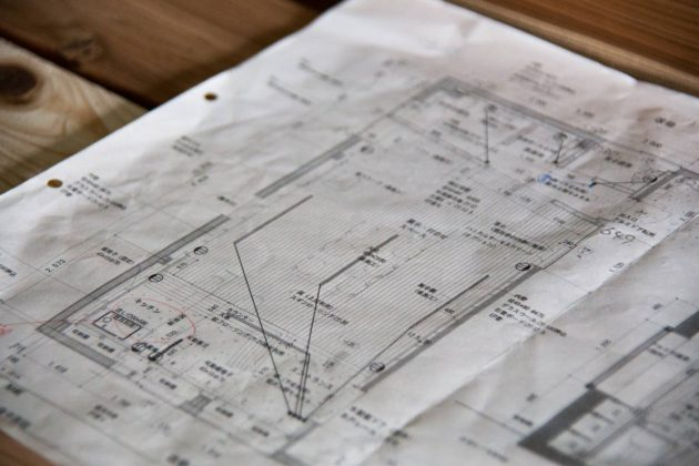 セルフリノベーション 設計図 ツバキラボ
