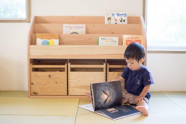 長良川おんぱく 長良杉 絵本棚 DIY ビスケットジョイナー