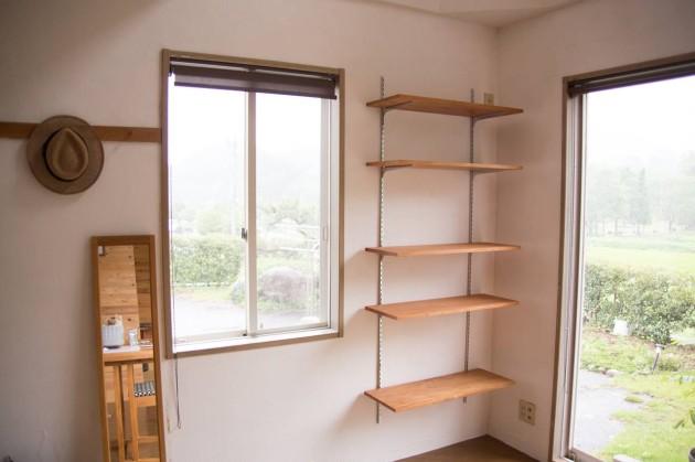 DIY 棚 壁 おしゃれ