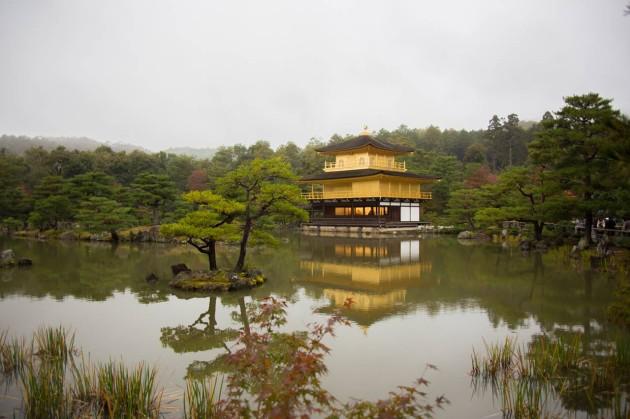 子連れ 京都 旅行 金閣寺