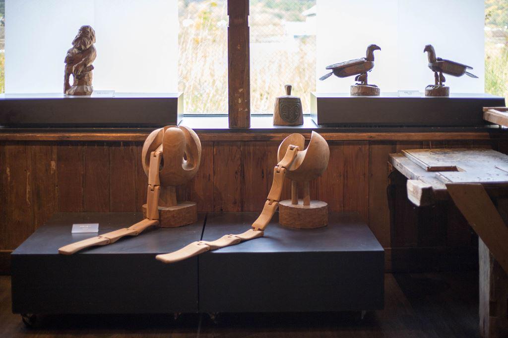 音威子府 北海道 砂澤ビッキ 彫刻家