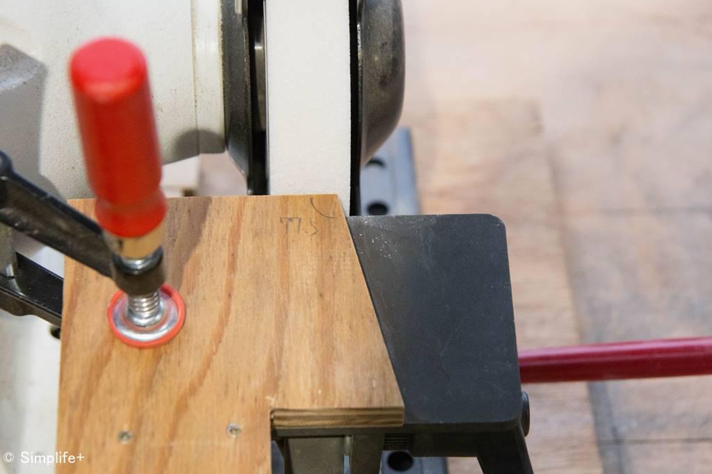 鉄工用ドリル 木工用ドリル ブラッドポイント 研ぐ 冶具
