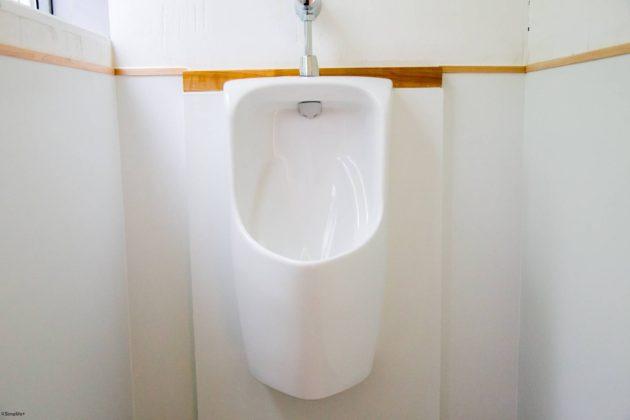 リノベーション トイレ設置 地域材