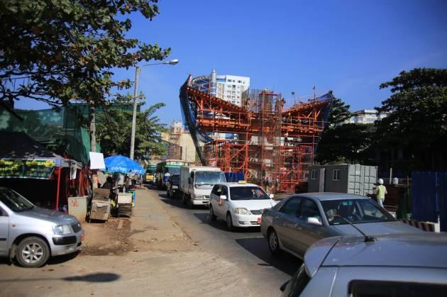 Myanmar Yangon Pyay Rd.