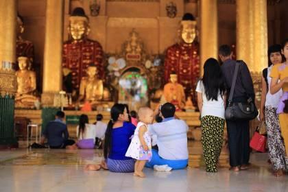 ミャンマー 観光 Myanmar Yangon シュエダゴンパゴダ Shwedagon Pagoda