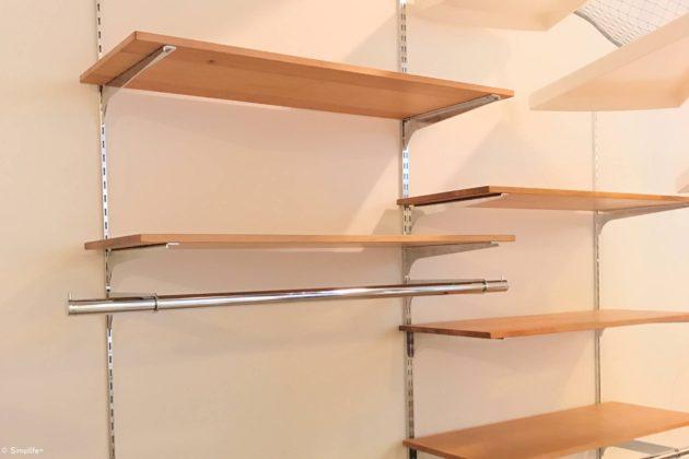 棚柱 取り付け DIY 棚 壁 収納