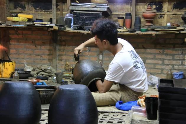 Myanmar Bagan ミャンマー バガン 漆