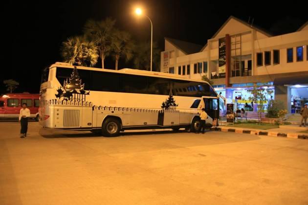 ミャンマー 観光 JJ Express バガン 高速バス