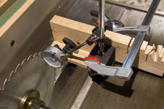 木工 昇降盤 アライメント 調整