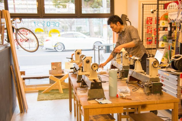 DIY Factory Osaka ペンターニングワークショップ