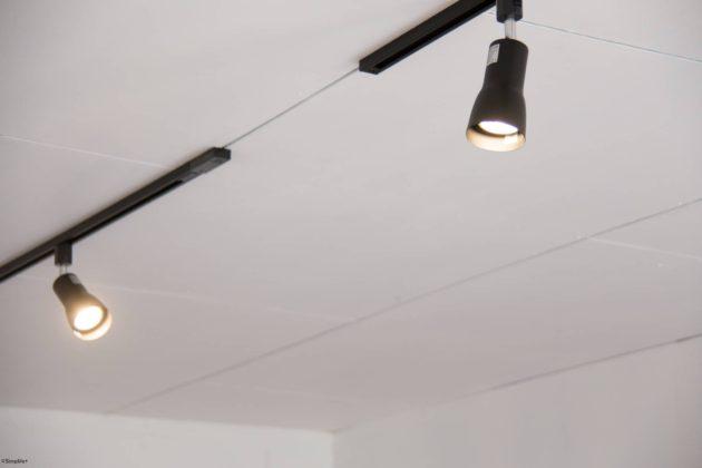 ダクトレール LED 照明 スポットライト