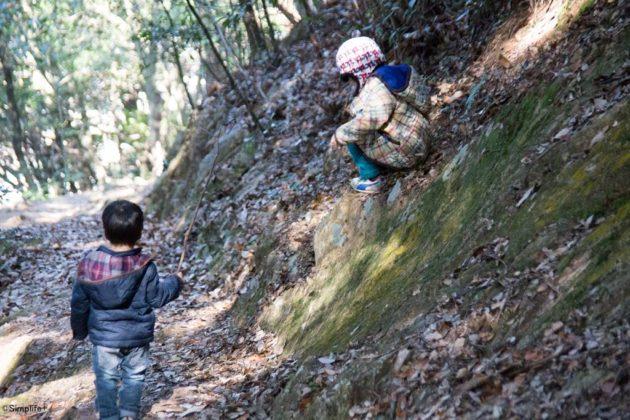 パパデイ 金華山 登山 子ども 子育て