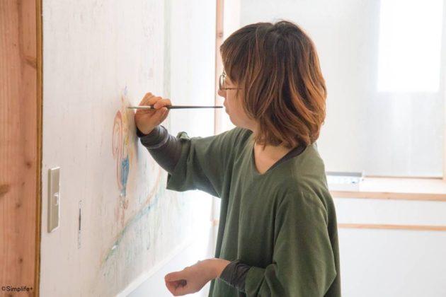 イラストレーター Sonoe 壁画