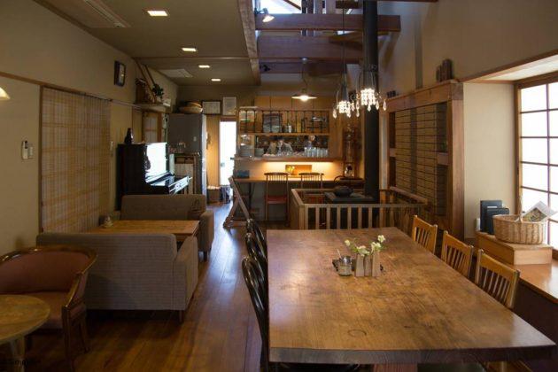 美濃加茂 カフェ みつばちや アンティーク 家具 修理