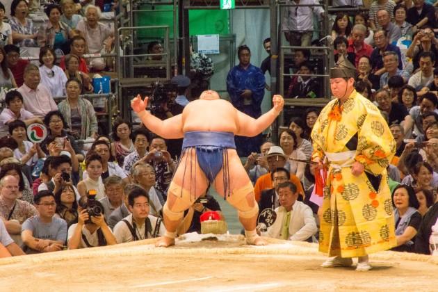 大相撲 名古屋場所 千秋楽 琴奨菊