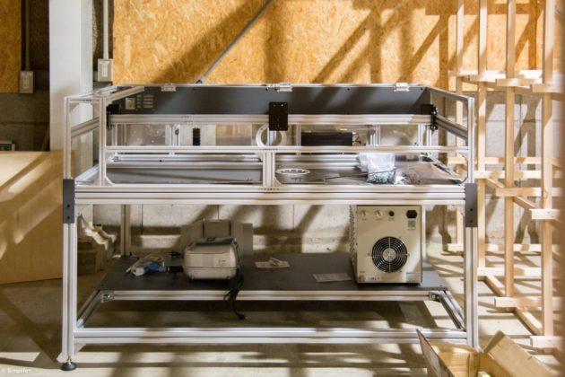 レーザー加工機 レーザーカッター Fabool DS DIY 組立